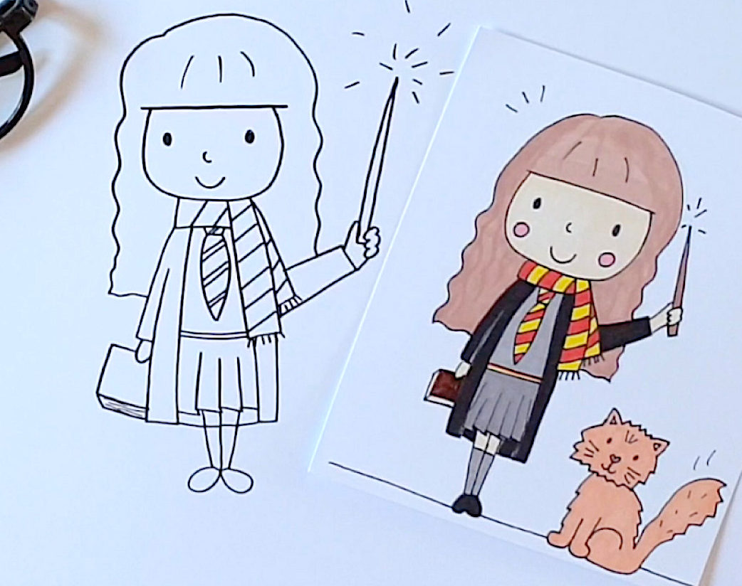 Comment dessiner Hermione Granger?
