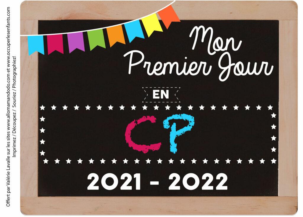 FICHE PREMIER JOUR CP 2021 2022