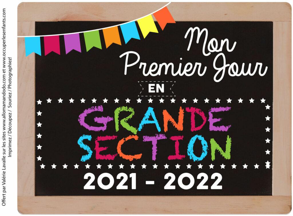 FICHE PREMIER JOUR GS 2021 2022