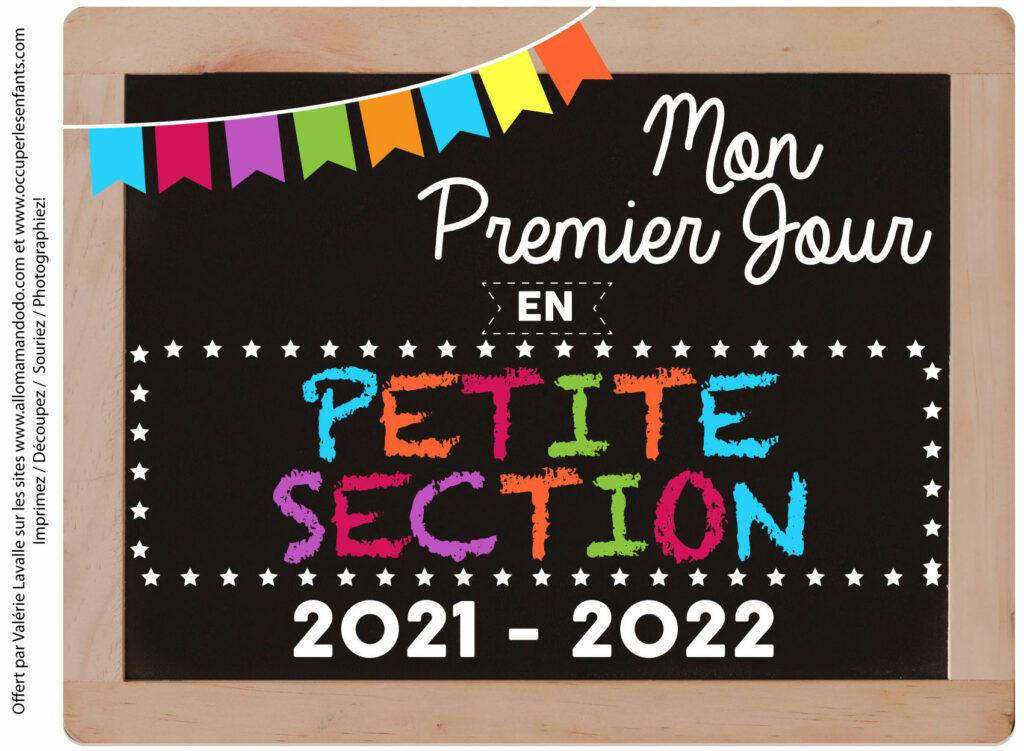 FICHE PREMIER JOUR PS 2021 2022